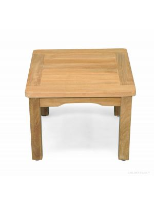 Teak Side End  Table - Mission Style