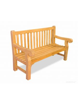 Hyde Park Bench Teak 5 ft | Premium Teak