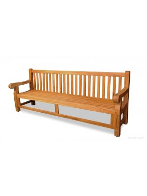 Hyde Park Estate Teak Bench 8 ft