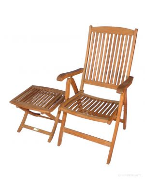 Teak Salisbury Reclining Chair