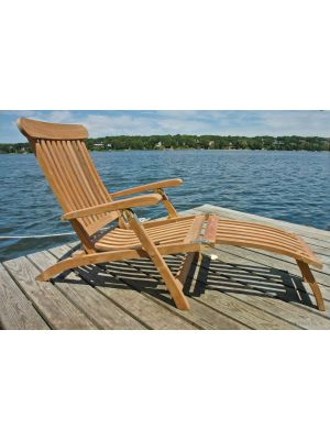Teak Steamer Chair - FANTASTIC PRICE
