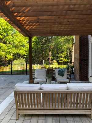 Teak Deep Seating and other Teak Outdoor Furniture - Customer Photo