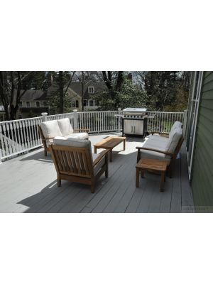 Teak Deep Seating Set DS-Chappy123 - Customer Photo - Goldenteak