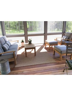 Teak Deep Seating in 3 Seasons Porch - Customer-Photo | Goldenteak