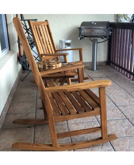 Teak Rocking Chairs, Teak End Grain Cutting Boards