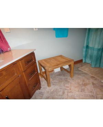 Teak Shower Bench Rosemont in Bathroom - customer photo