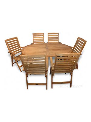 Teak Dining Set Captiva Portsmouth