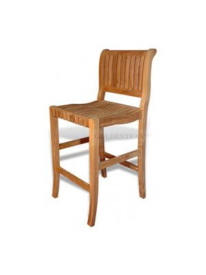 Teak Bar Chair
