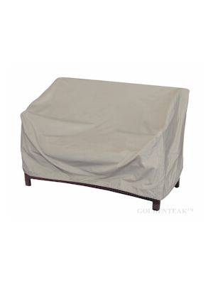 Teak Deep Seating Sofa Cover with elastic