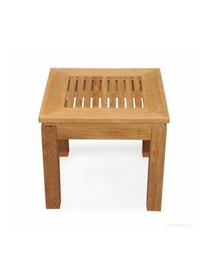 Teak Square End Table 6061