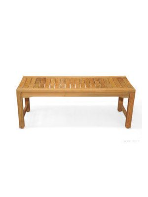 Teak Backless Bench Rosemont - 48 inch