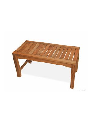 Teak Backless Benches In Many Sizes Suitable For Patio Or
