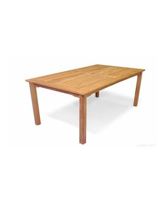 Teak Dining Harvest Rectangular Table 40 inch X 70 inch - Solid Teak