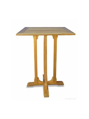 Teak Square Bar Table 36 inch Sq.