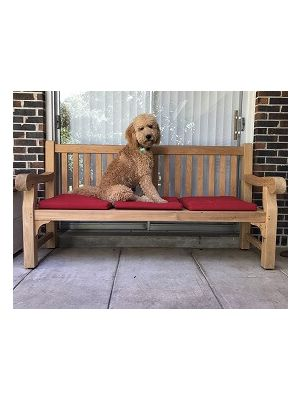Teak Hyde Park 6 Ft Bench with Chester- Goldenteak Customer Photo