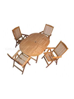 Teak Dining Set Captiva Salisbury
