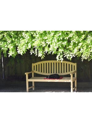 Teak Bench Review - Customer Photo Goldenteak