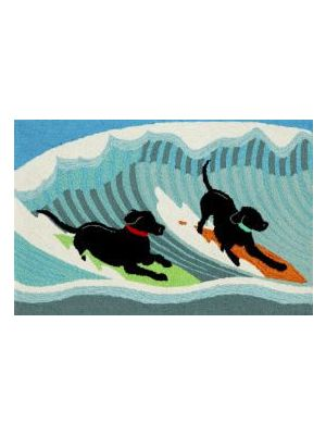 Dogs Sea Outdoor Rug