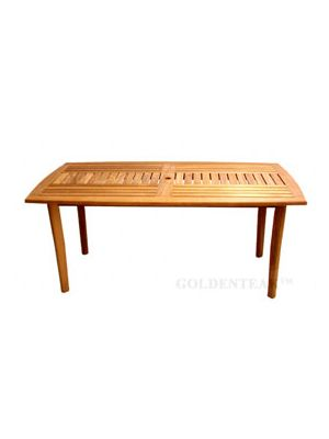 Teak Sutton Rectangular Dining Table