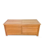 Teak Cushion Storage Pool and Dock Box