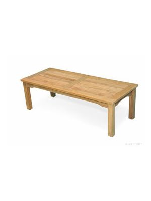 Teak Mission Coffee Table Large