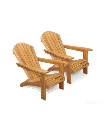 Teak Adirondack Chair PAIR Set, SAVE!!
