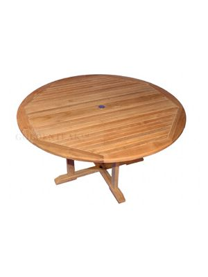 Teak Dining Table Padua Round  60 inch Dia.