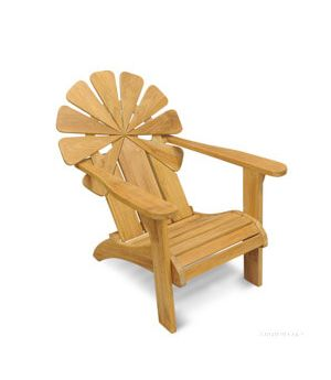 Teak Adirondack Chair - Petals Collection