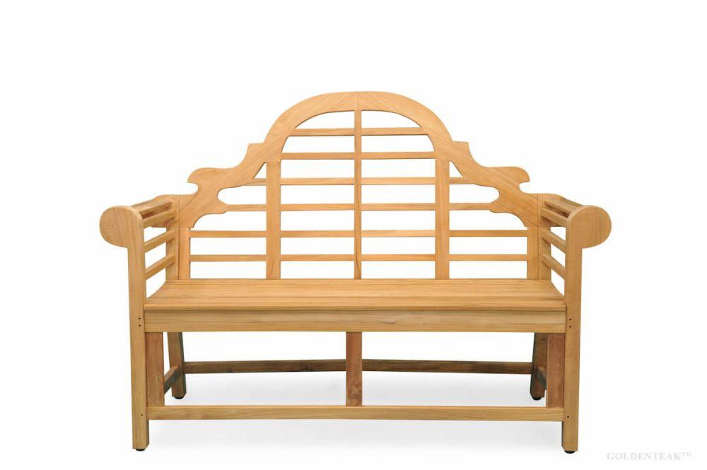 Teak Bench Marlboro Lutyens Teak Outdoor Furniture From Goldenteak