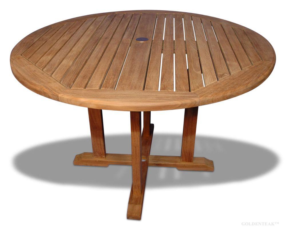 Teak Dia 48 Padua Round Dining Table Buy Outdoor Patio Furniture