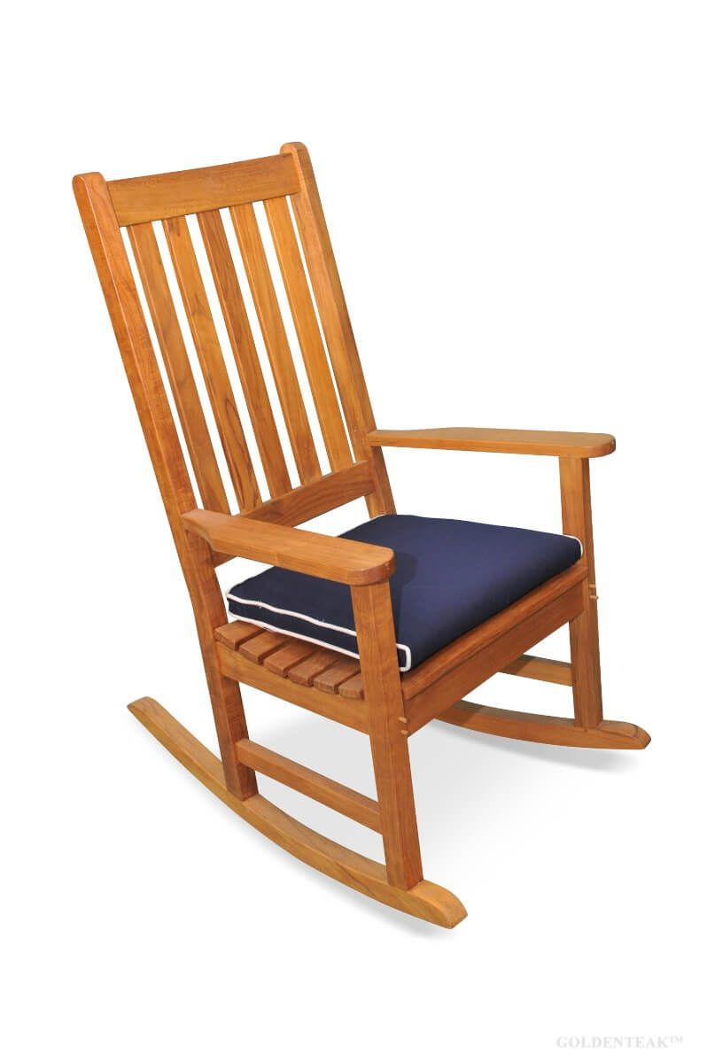 Outdoor Cushion Goldenteak Rocking, Outdoor Furniture Rocking Chair Cushions
