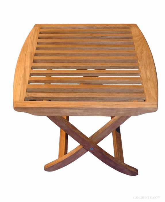 Stupendous Teak Foot Stool End Table Salisbury 3031F Machost Co Dining Chair Design Ideas Machostcouk