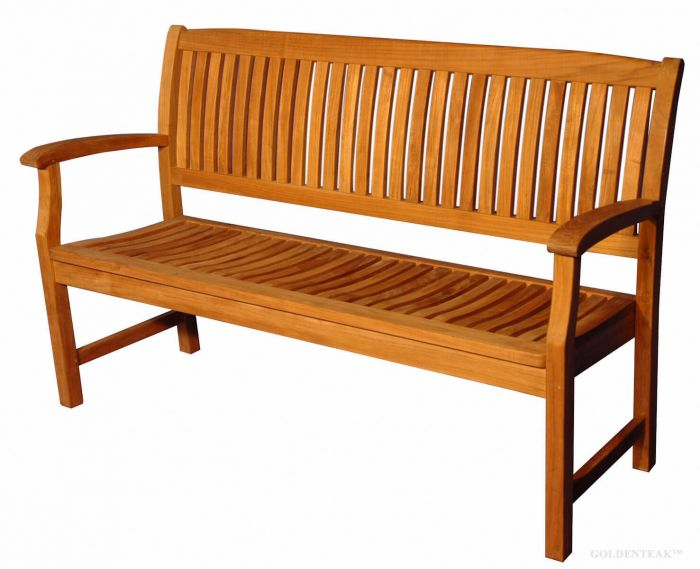 Incredible Teak Tisbury Bench 5 Ft Premium Teak Caraccident5 Cool Chair Designs And Ideas Caraccident5Info