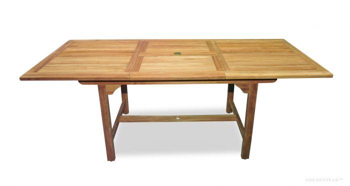 Ethnicraft Teak Slice Extension Dining Table 160cm By Ethnicraft