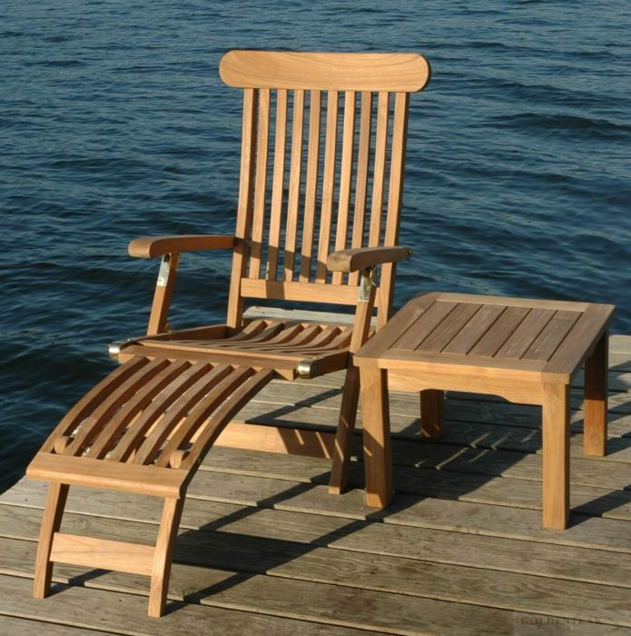 Teak Steamer Chair   FANTASTIC PRICE
