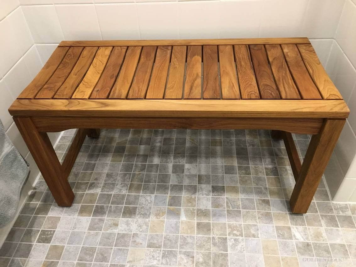 Delicieux Love My New Teak Bench. It Is Beautifully Crafted. Finished It With Star  Briteu0027s Premium Golden Teak Oil Which Is Claimed To Be Marine Grade.