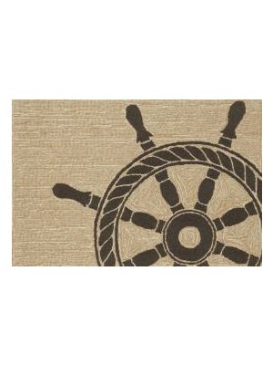 Ship Wheel Black