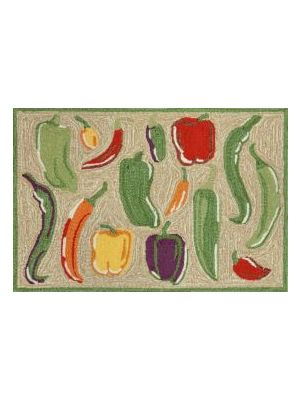 Chilli Peppers Outdoor Rug