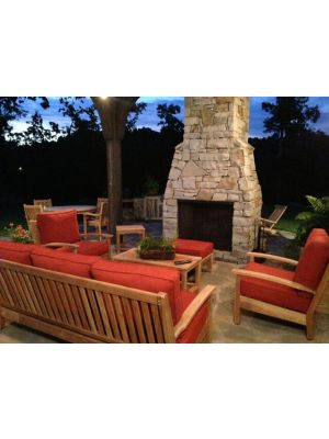Teak Deep Seating Conversation Set and more - TN - Customer Photo