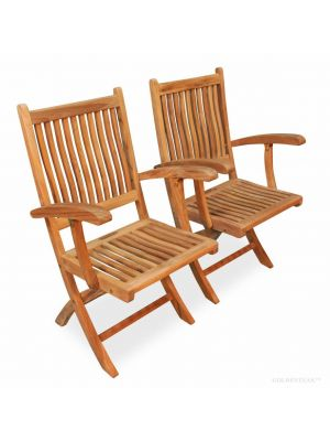 Teak Chair Rockport with Arms