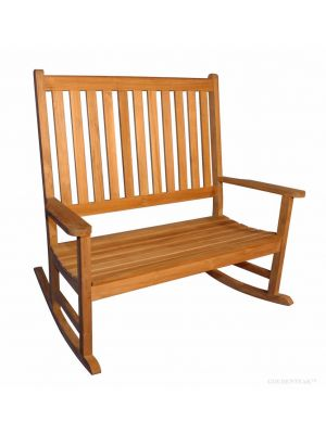 Double Carolina Rocker, or Rocking Bench - Premium Teak