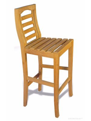 Portsmouth Teak Bar Chair
