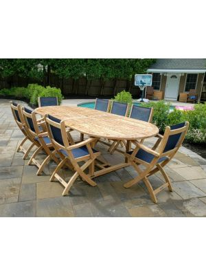 Teak Dining Set for 8 - Santa Monica Collection