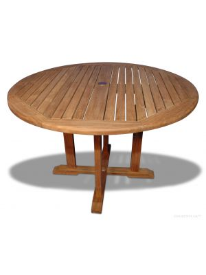 Teak Dining Table Padua Round Dia 48 inch