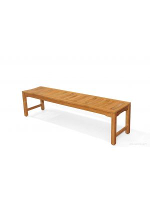 Teak Backless Bench Rosemont 6ft