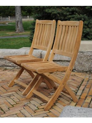 Teak Providence Chair without arms PAIR
