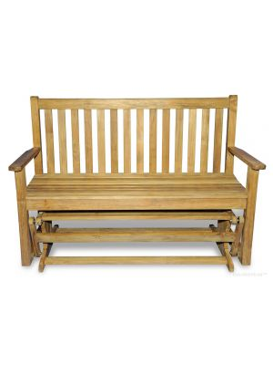 Teak Glider Bench 4.5 ft |  Premium Teak Hampstead Collection