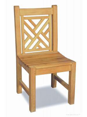 Teak Chippendale Side Chair Without Arms ...