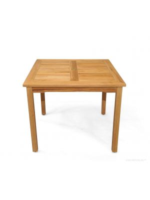 Teak Dining Table 36 in Square Bistro - FREE* ship with min 2 chairs