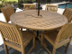 Teak Round Dining Set for 8 Customer Photo Goldenteak